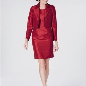 Le Suit Women's Flyaway Jacket & Dress Suit LS45